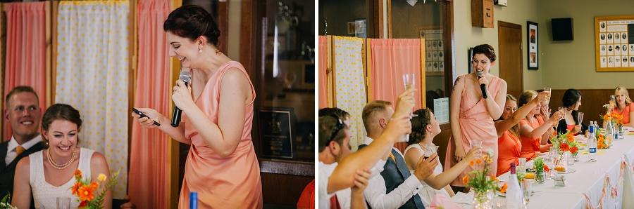 maid of honor speech millarville farmer's market rustic wedding alberta calgary photographer anna michalska