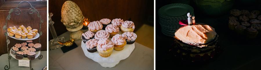 pink cupcakes bridal cake millarville farmer's market rustic wedding alberta calgary photographer anna michalska