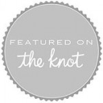 Featured on The Knot - Click for feature