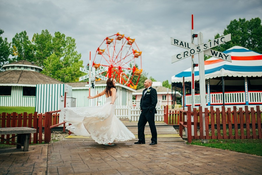 Lysha + Shaun | Heritage Park Wedding At Wainwright Hotel Calgary