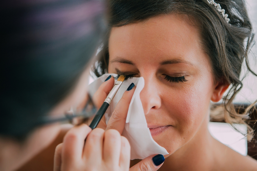 bride smokey eye makeup calgary wedding photographers anna michalska