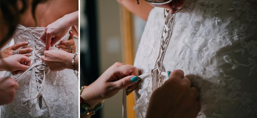 back lace dress bride calgary wedding photographer anna michalska
