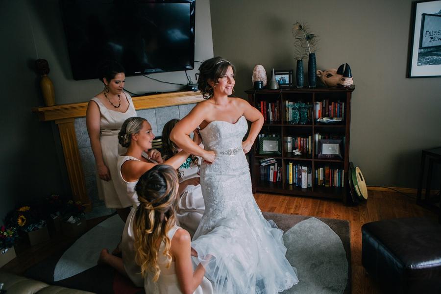 calgary wedding photographer anna michalska Maggie Sottero dress