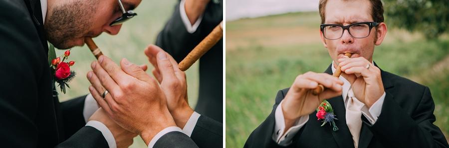 cigars groomsmen calgary wedding photographers anna michalska