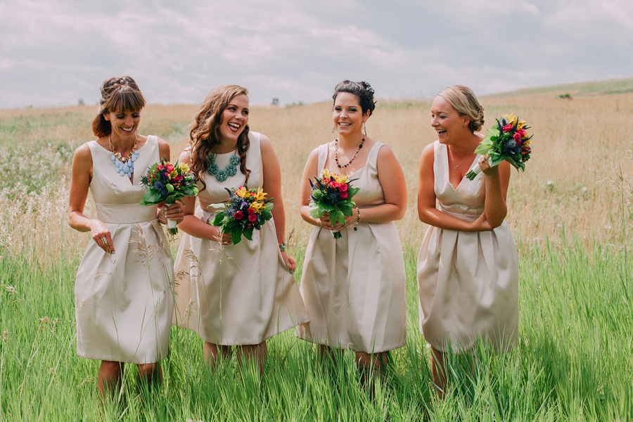 champagne bridal party dresses alfred sung calgary wedding photographer anna michalska