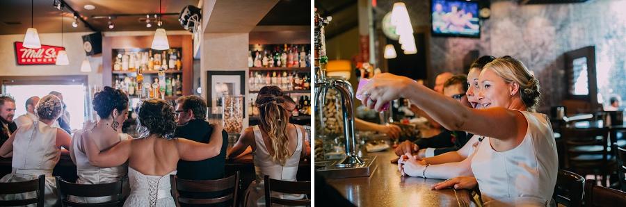 selfie 4th spot kitchen and bar calgary wedding photographer anna michalska