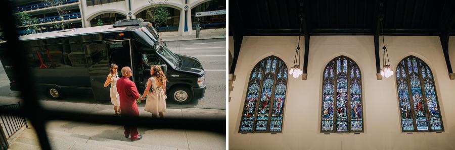knox united church calgary wedding photographer anna michalska stained glass windows