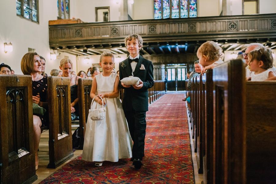 flower girl ring bearer knox united church calgary wedding photographer anna michalska