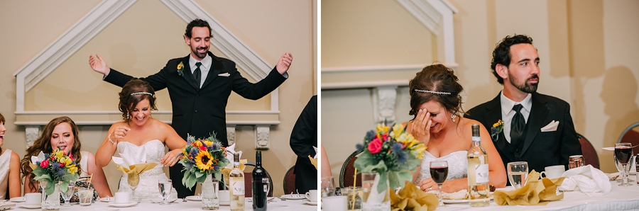 bride groom speeches ramada plaza hotel calgary wedding photographer anna michalska