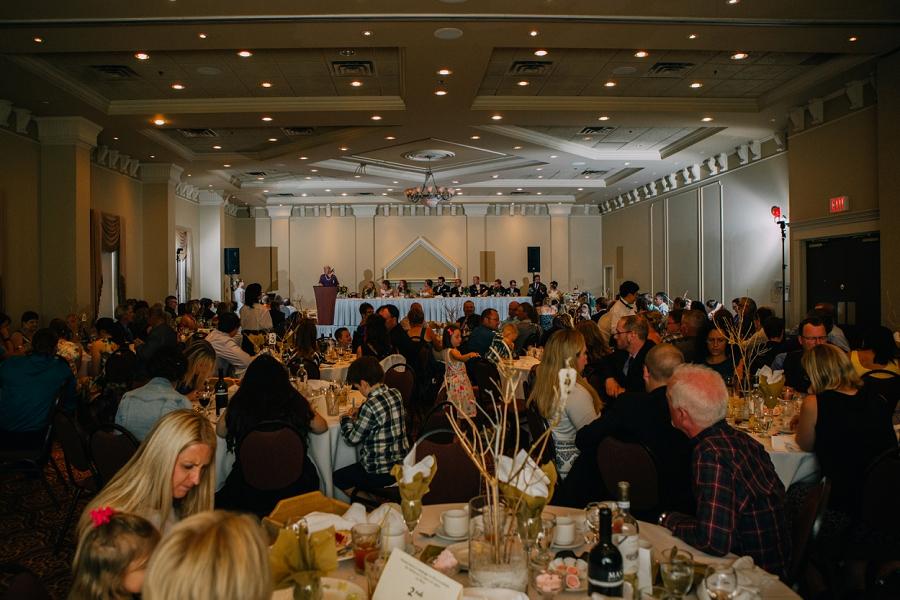 reception decor ramada plaza hotel calgary wedding photographer anna michalska