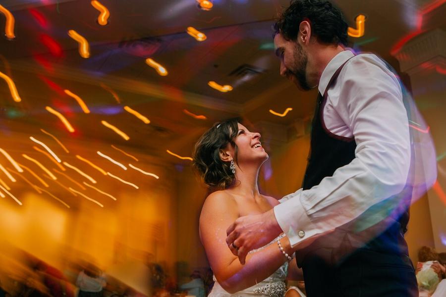 bride and groom dancing ramada plaza hotel calgary wedding photographer anna michalska