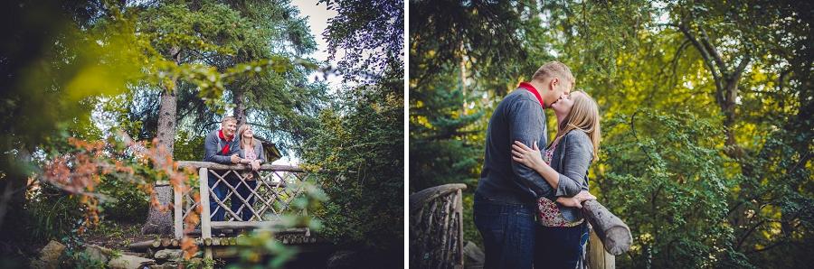 wood bridge reader rock garden engagement session calgary wedding photographer anna michalska