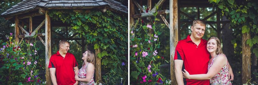 gazebo bride groom reader rock garden engagement session calgary wedding photographer anna michalska