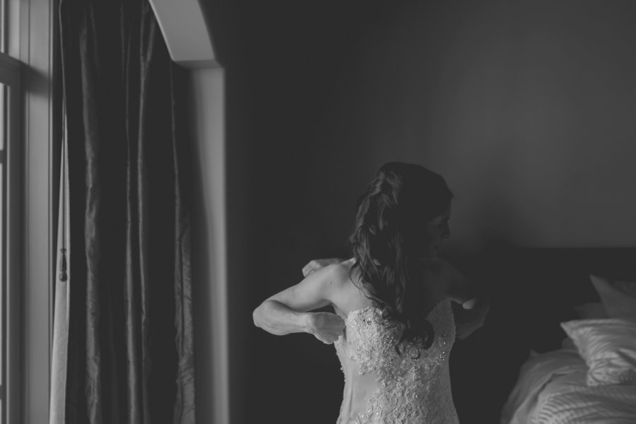 bride getting ready calgary wedding photographer anna michalska
