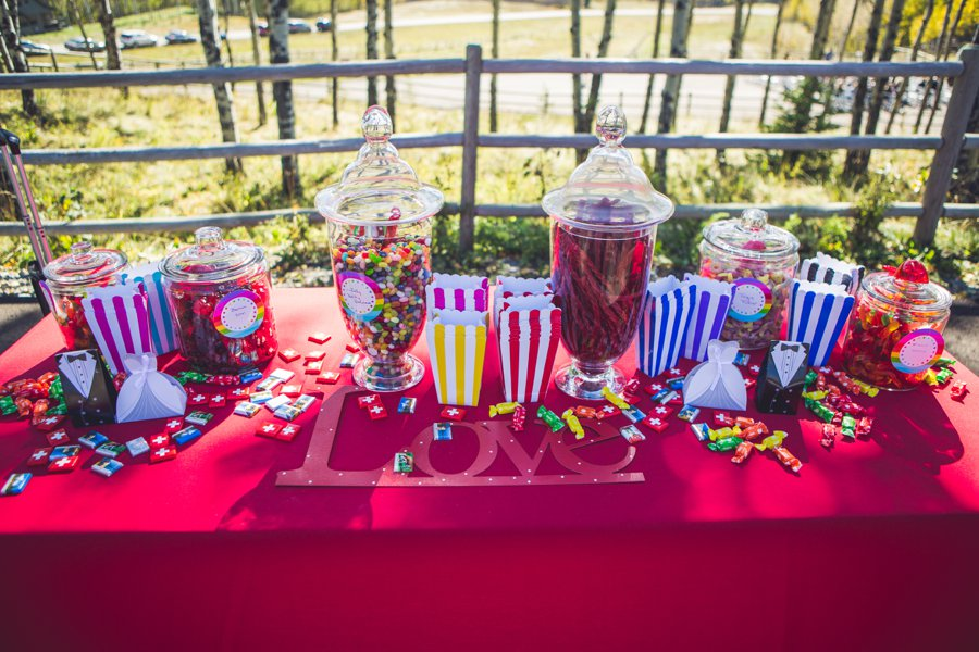 love pink candy table calgary wedding photographer anna michalska