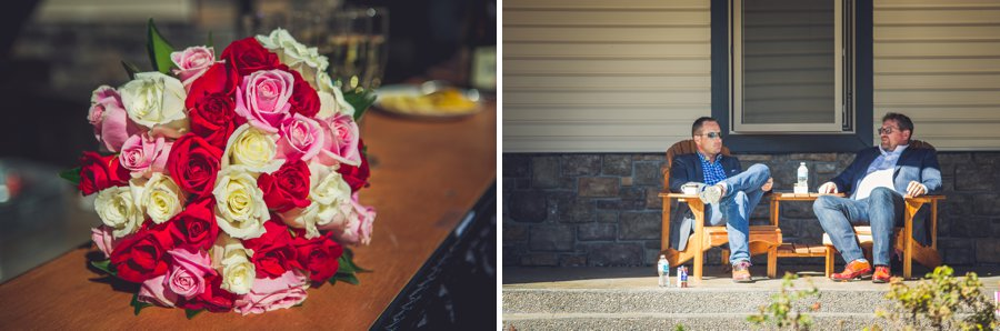 roses bouquet calgary wedding photographer anna michalska
