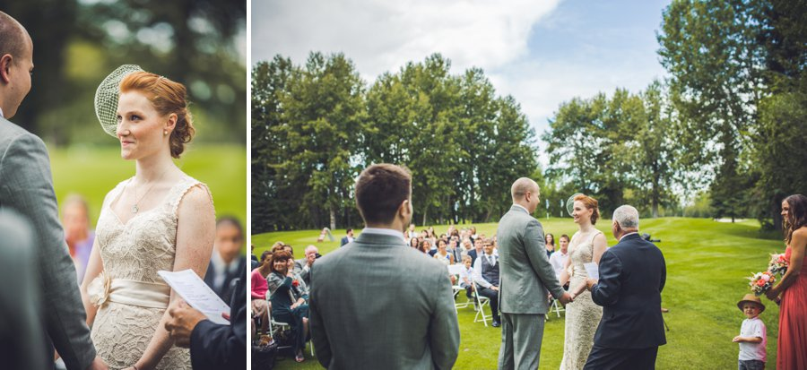 elbow springs golf club calgary wedding photographer anna michalska ceremony