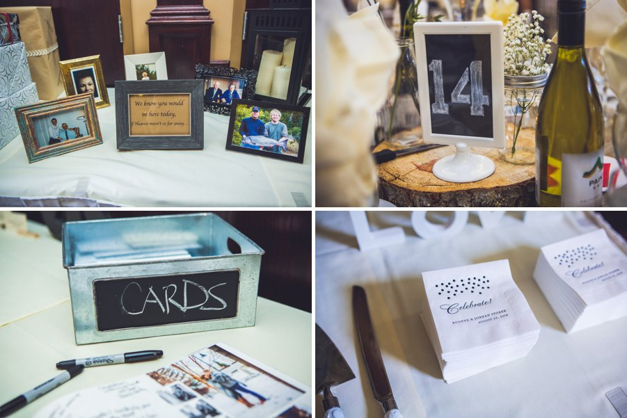 elbow springs golf club calgary wedding photographer anna michalska reception decor