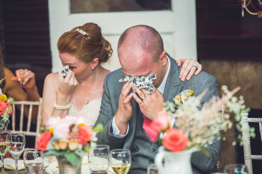groom emotional tears speeches elbow springs golf club calgary wedding photographer anna michalska