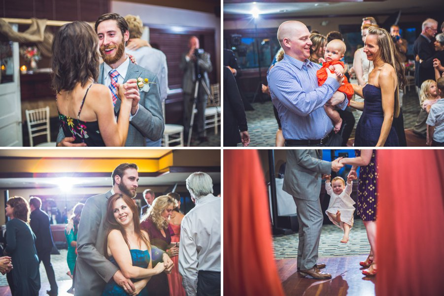 guests toddler dancing elbow springs golf club calgary wedding photographer anna michalska