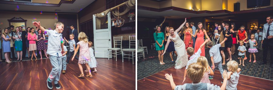 kids dancing elbow springs golf club calgary wedding photographer anna michalska