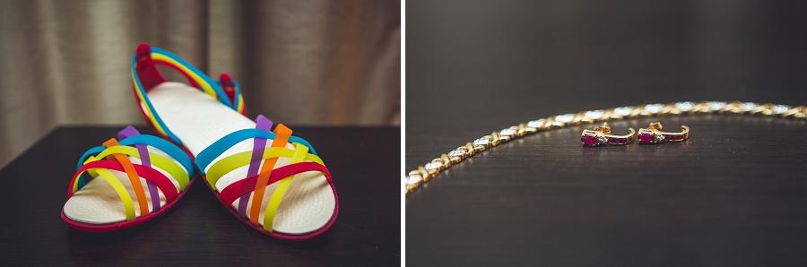 rainbow sandal shoes calgary wedding photographer anna michalska