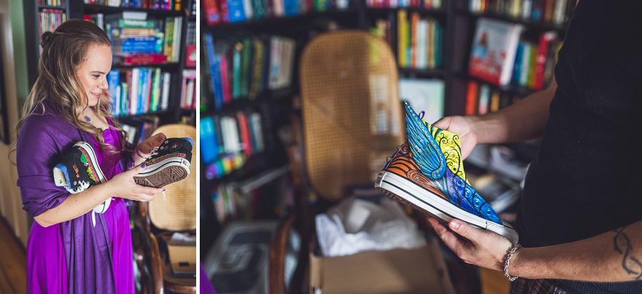 custom colored shoes calgary wedding photographer anna michalska