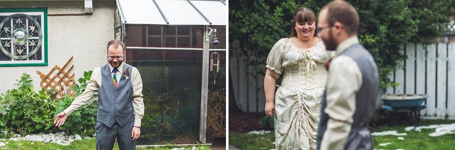 calgary wedding photographer anna michalska first look