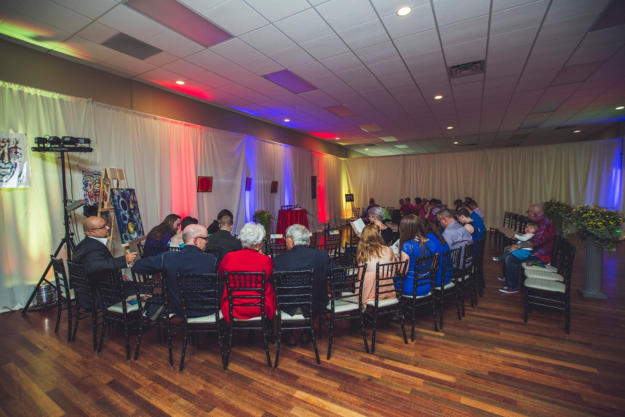 rainbow wedding circle ceremony calgary wedding photographer anna michalska