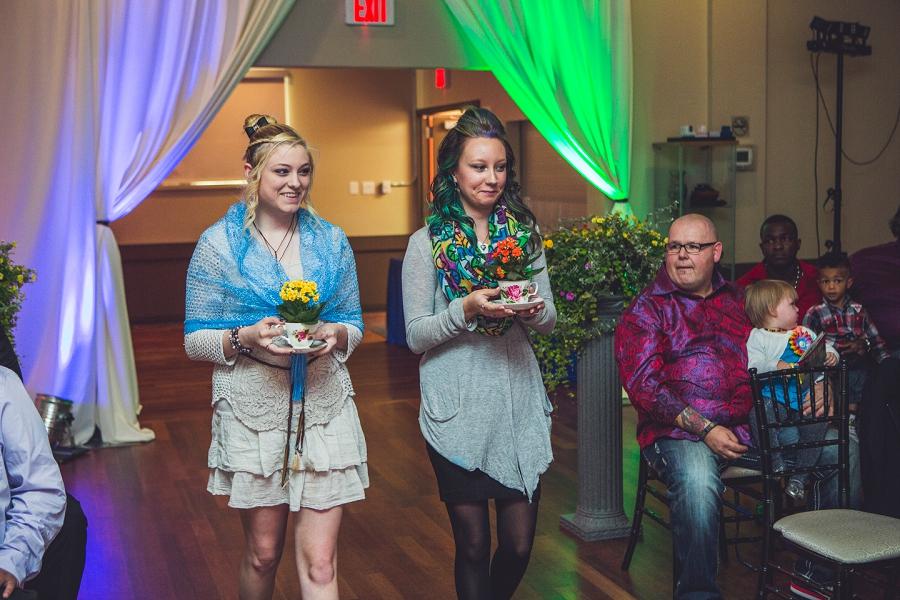 rainbow wedding flower teacups calgary wedding photographer anna michalska