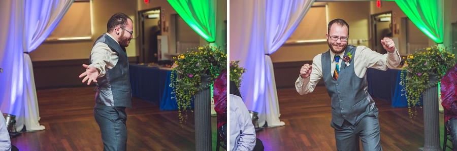 groom rainbow wedding calgary wedding photographer anna michalska