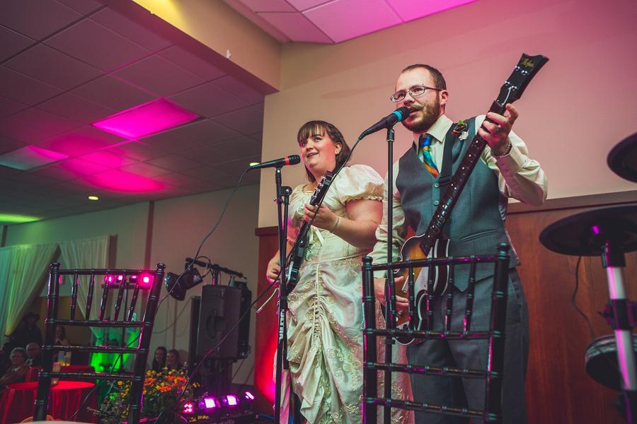 rock band rainbow wedding calgary wedding photographer anna michalska