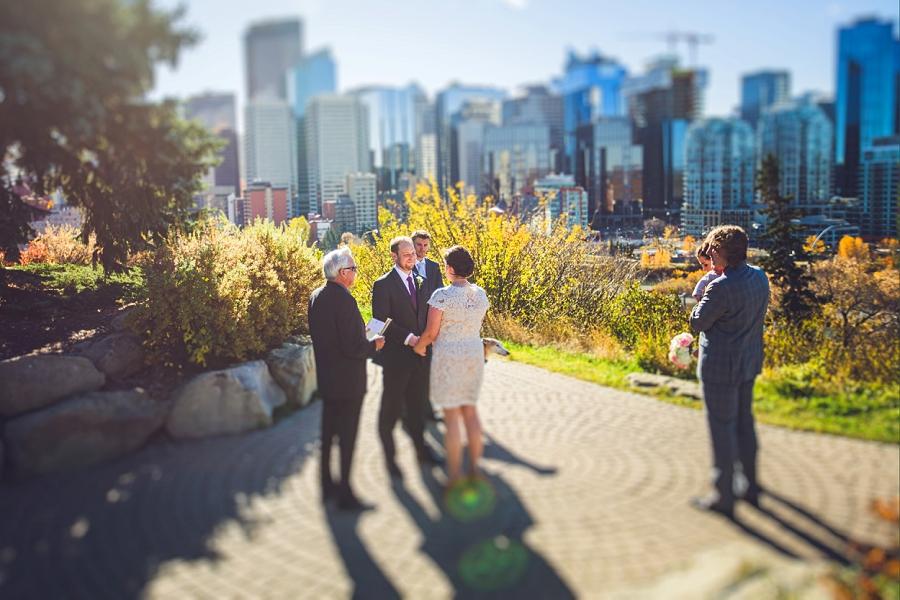 rotary park downtown calgary elopement wedding photographer anna michalska