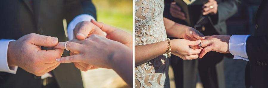 wedding rings downtown calgary elopement wedding photographer anna michalska