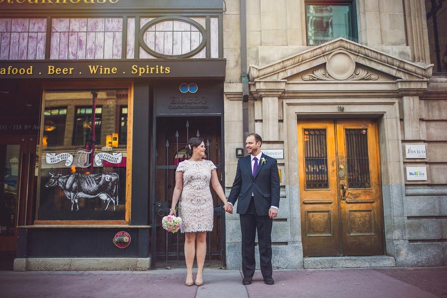 stephen avenue calgary wedding photographer anna michalska
