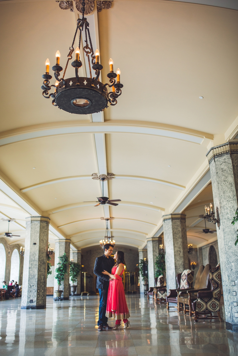 fairmont banff springs hotel winter engagement photos anna michalska