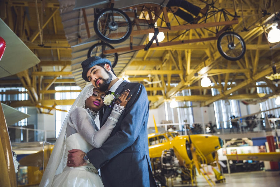 bride groom calgary aerospace museum multicultural islamic wedding in calgary photographer