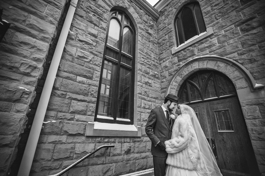 multicultural islamic wedding in calgary photographer central united church winter