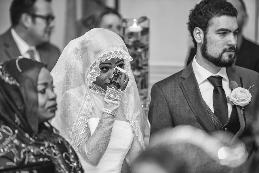 bride crying wedding slideshow multicultural islamic wedding in calgary photographer ramada plaza hotel