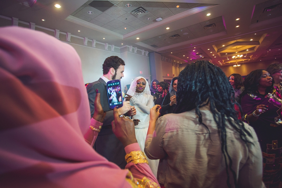 iphone bride picture multicultural islamic wedding in calgary photographer ramada plaza hotel
