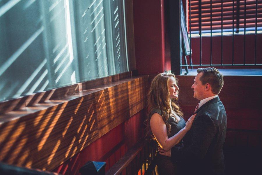 black betty calgary engagement session smiling bride anna michalska