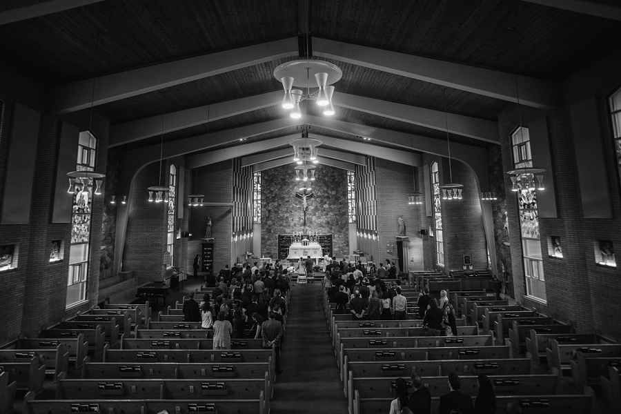 st. anthony's parish calgary wedding photography pi day
