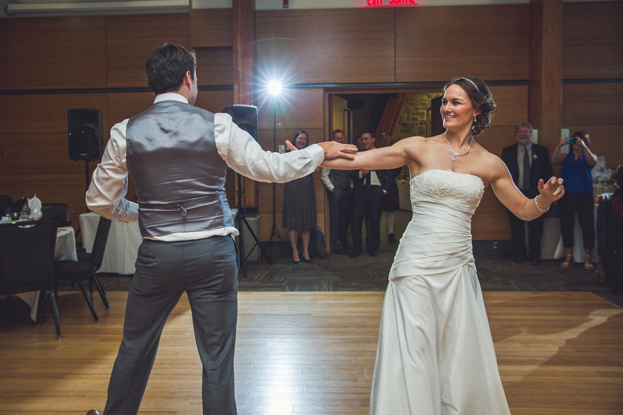 bride groom first dance calgary zoo wedding photography
