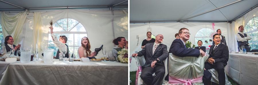 bride groom shoe game calgary wedding