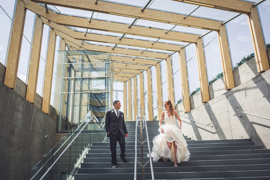 sait parking lot calgary wedding