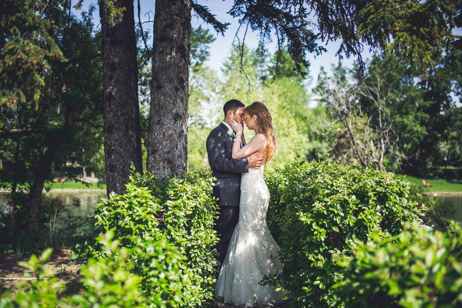 bride groom garden gerry shaw gardens
