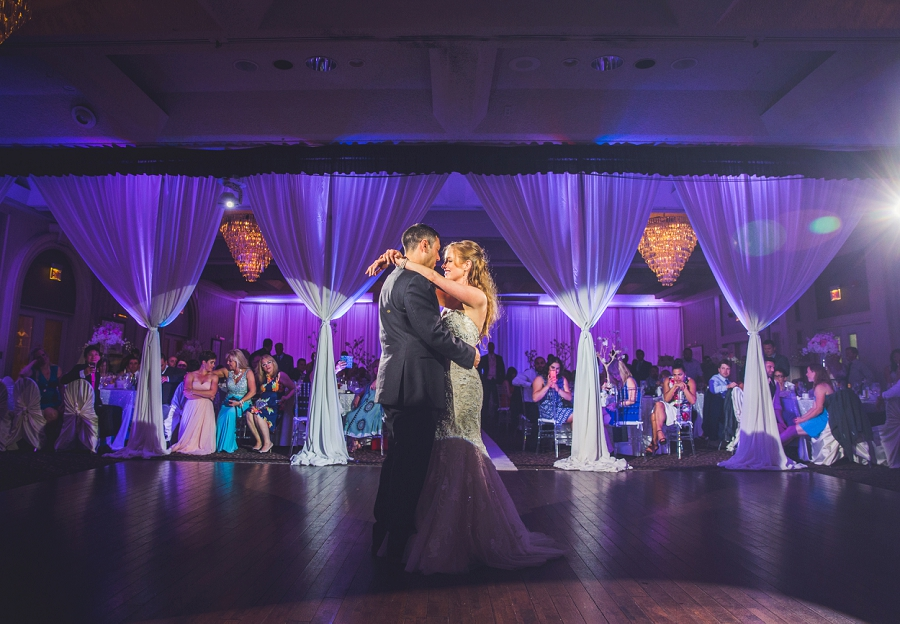 first dance bride groom carriage house inn calgary wedding reception