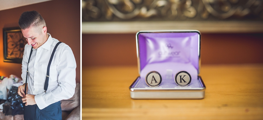 wind tower hotel canmore custom cufflinks groom groomsmen