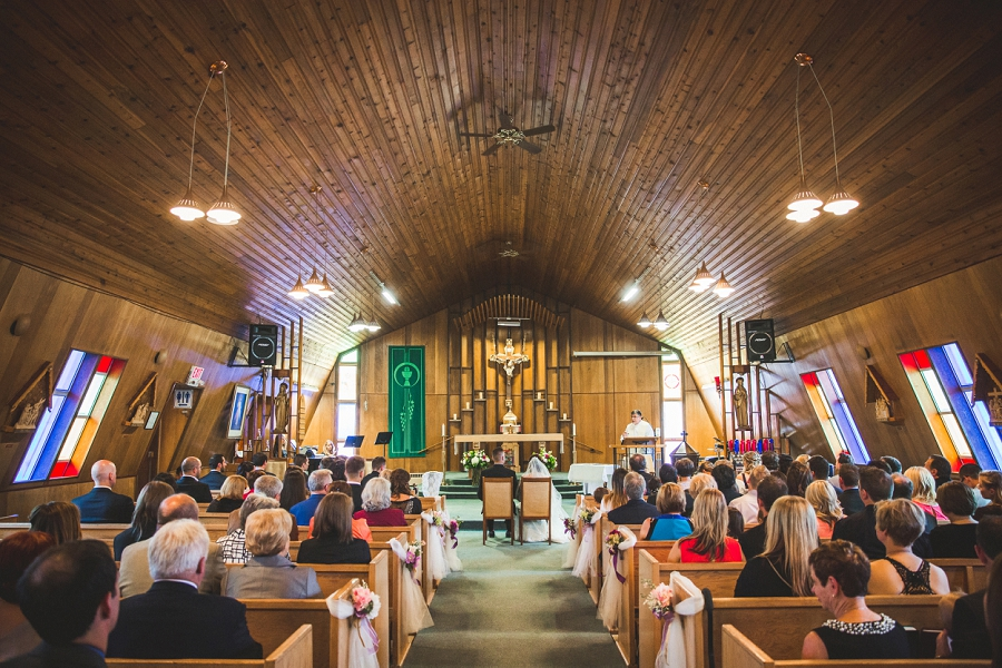 our lady of the rockies parish canmore wedding ceremony