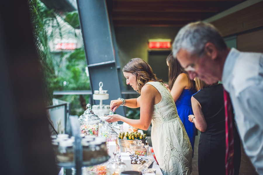 candy table calgary zoo summer wedding
